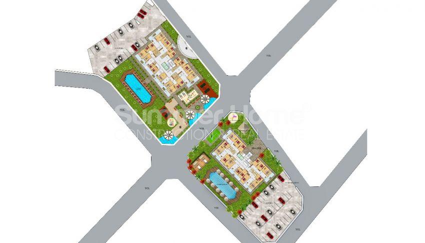 Wohnungen in Mahmutlar, Alanya zum Verkauf: Modern und neu gestaltet plan - 2