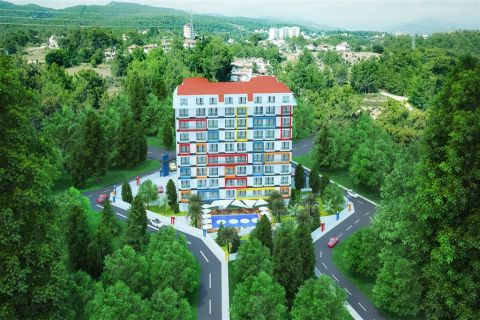 Colourful and Affordable Apartments For Sale in Avsallar, Alanya