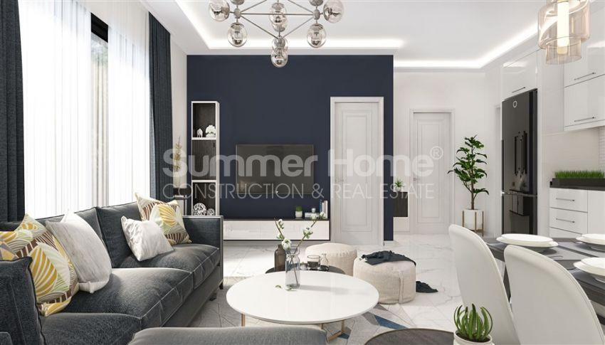 آپارتمان نوساز با طراحی زیبا در آوسالار، آلانیا interior - 7