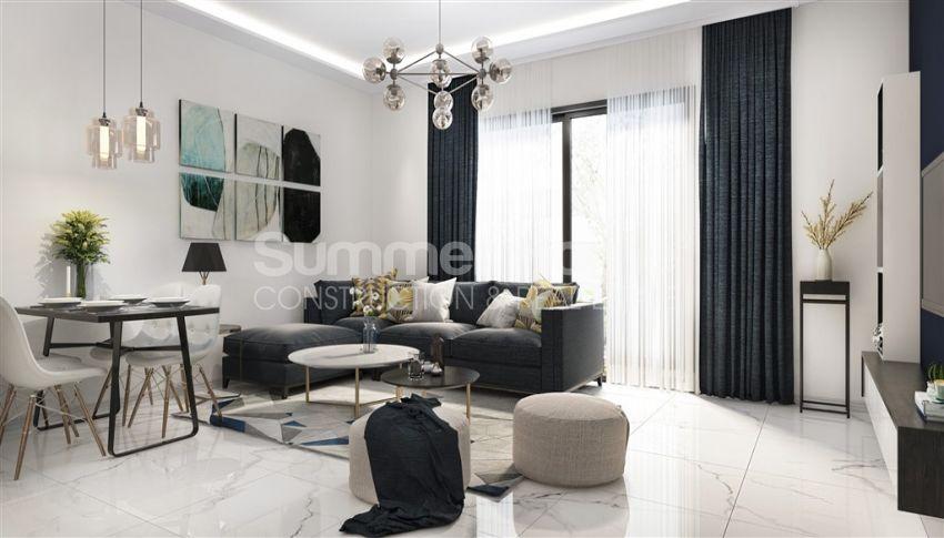 آپارتمان نوساز با طراحی زیبا در آوسالار، آلانیا interior - 8