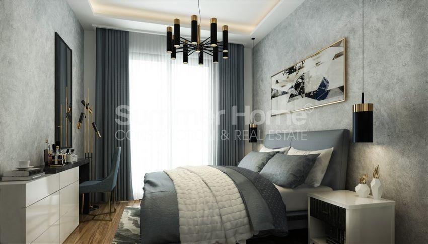 آپارتمان نوساز با طراحی زیبا در آوسالار، آلانیا interior - 10