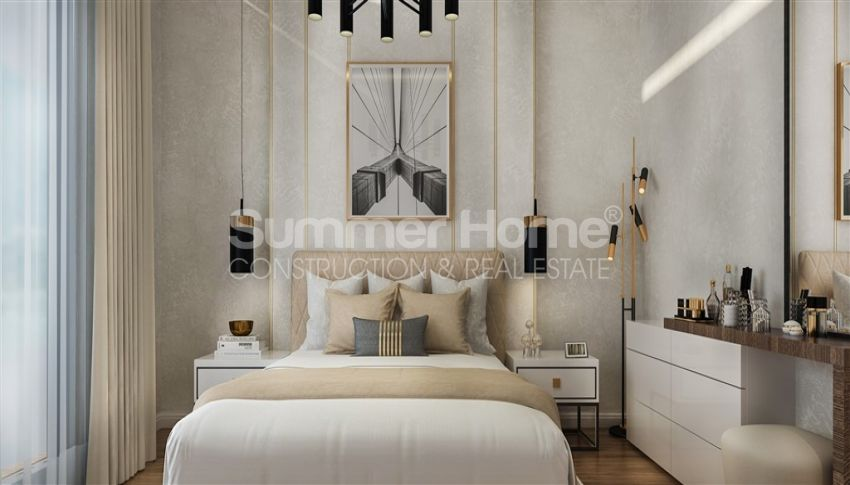آپارتمان نوساز با طراحی زیبا در آوسالار، آلانیا interior - 11