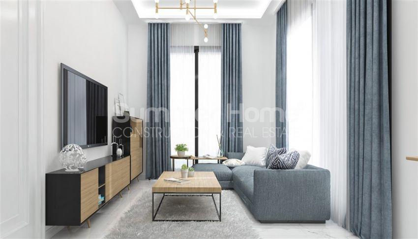آپارتمان نوساز با طراحی زیبا در آوسالار، آلانیا interior - 13
