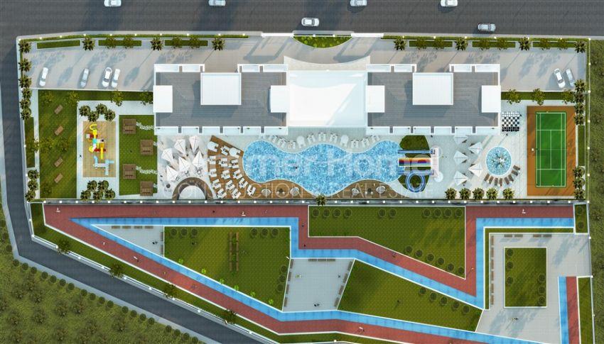 آپارتمان نوساز با طراحی زیبا در آوسالار، آلانیا plan - 1