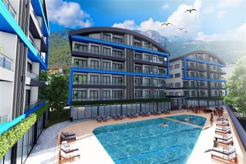 Modernly Designed Affordable Apartments For Sale in Oba, Alanya