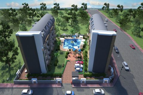 Spectacular Apartments For Sale in Oba, Alanya
