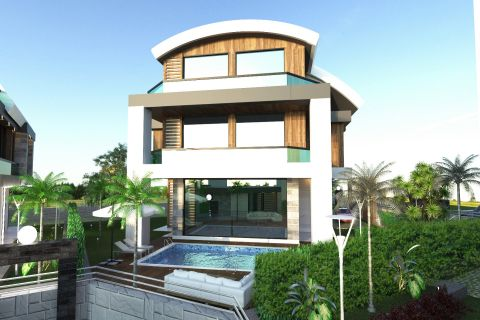 Specially Designed Villas For Sale in Kargicak, Alanya
