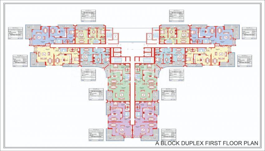 Ruime en betaalbare appartementen te koop in een stadachtig complex plan - 1