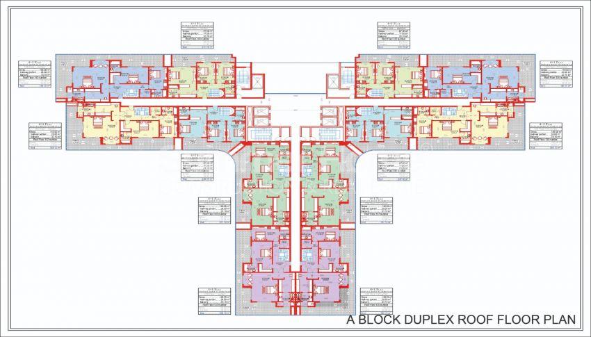 Ruime en betaalbare appartementen te koop in een stadachtig complex plan - 3
