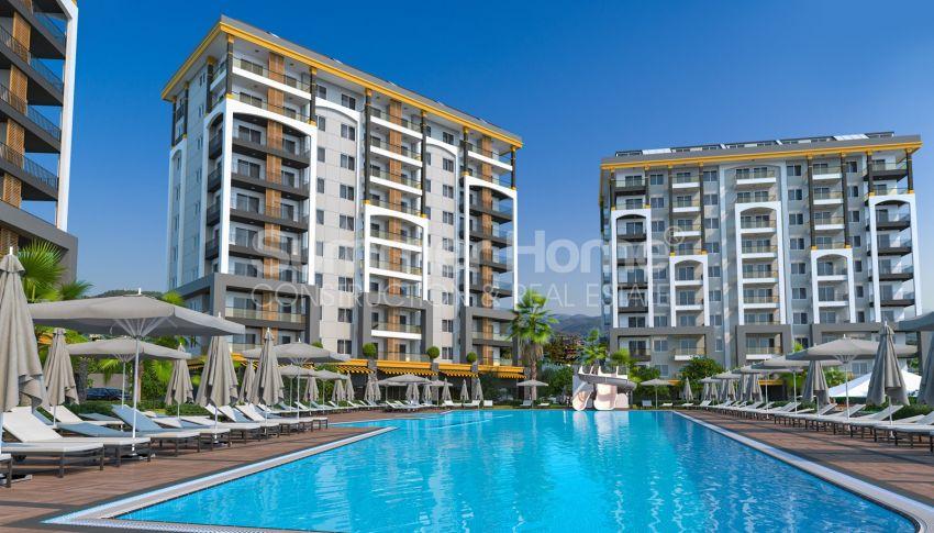 آپارتمان نوساز برای فروش در مجتمع زیبا در آوسالار، آلانیا general - 5