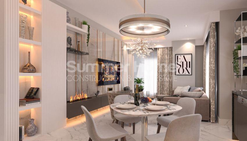 آپارتمان نوساز برای فروش در مجتمع زیبا در آوسالار، آلانیا interior - 13