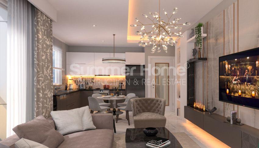 آپارتمان نوساز برای فروش در مجتمع زیبا در آوسالار، آلانیا interior - 14
