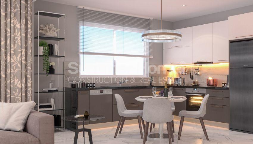 آپارتمان نوساز برای فروش در مجتمع زیبا در آوسالار، آلانیا interior - 15