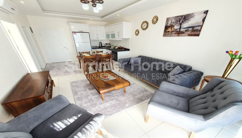 Entzückende Wohnung zum Wiederverkauf in Mahmutlar, Alanya interior - 12