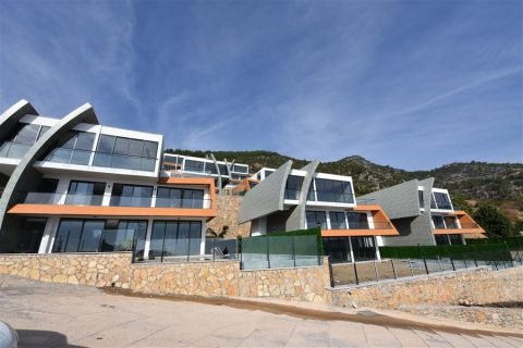 New Futuristic Villa For Sale in Tepe, Alanya