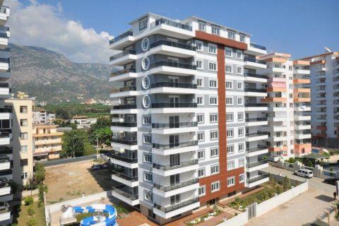 Alanya Mahmutlar'da Satılık Modern Tasarımlı, 1+1 Daire