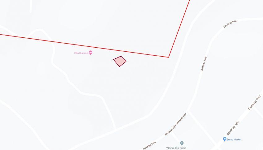 زمین خوش نقشه مناسب برای ویلا در دمیرتاش، آلانیا general - 1