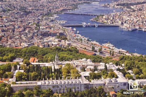 Een geïntegreerd complex met investeringsappartementen in Topkapi, Istanbul