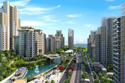 Bargain Price Apartments Surrounded by Green Landscape in Central Istanbul, Bahcesehir