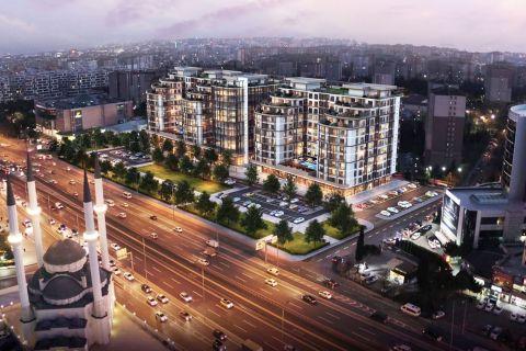 Appartements de style moderne qui offrent une grande expérience d'investissement à Beylikduzu, Istanbul