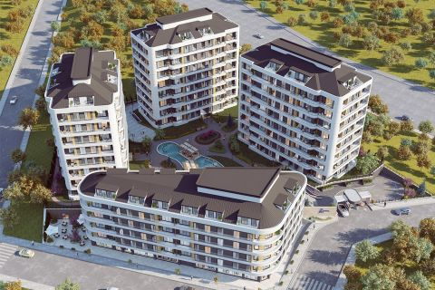 Great Investment Apartments with Amazing  Sea and City View in Avcilar, Istanbul