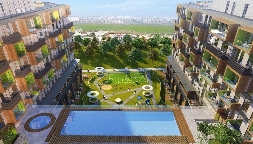 Laadukkaat huoneistot tarjoavat upean kaupunkinäkymän Avcilarissa, Istanbulissa general - 13