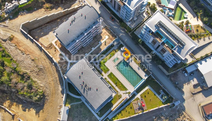 Appartementen te koop op een vredige locatie in Kargicak, Alanya general - 2