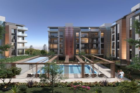 Complex With Many Facilities For Sale in Konyaalti, Antalya