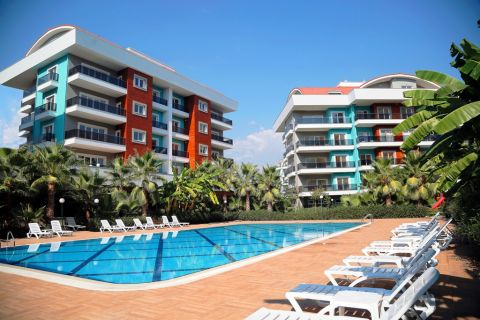 Lovely Apartments For Sale in Convenient Location in Oba, Alanya