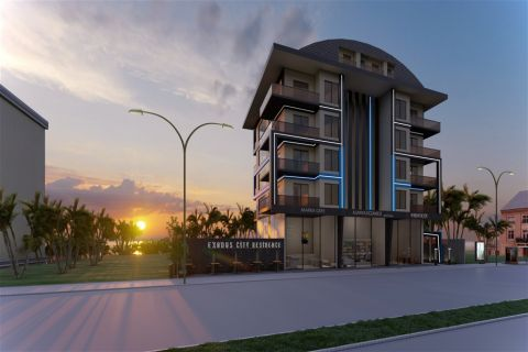 Apartments in a Beautiful Location For Sale Near The Beach in Kargicak