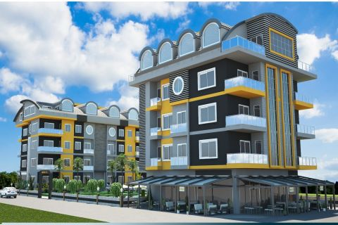 Luxurious Apartments in Excellent Complex with Rich Amenities in Oba, Alanya