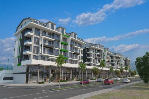 Luxurious Apartments in Brand-New Complex Near The Sea of Kargicak, Alanya