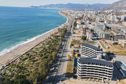 Seafront Properties For Sale in Kargicak, Alanya