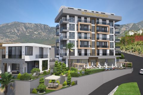 Sea View Apartments For Sale in Kargicak, Alanya