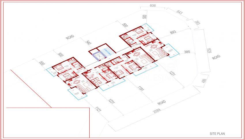 Meerblick-Wohnungen in Kargicak, Alanya plan - 2