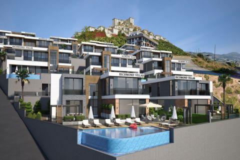 Modern Villas for Sale in Kargicak, Alanya