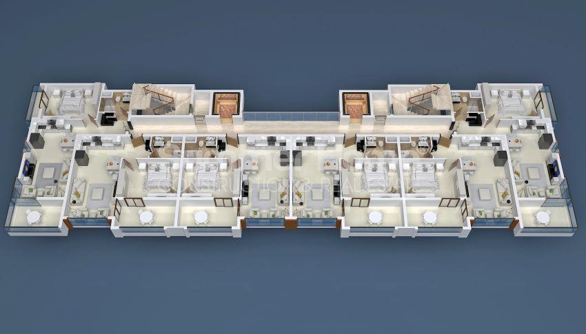 فروش آپارتمانهای لوکس در محمودلار، ساختهشده توسط شرکت سازندهی معتبر plan - 1