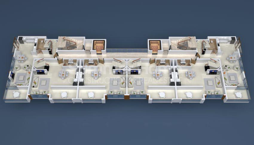 فروش آپارتمانهای لوکس در محمودلار، ساختهشده توسط شرکت سازندهی معتبر plan - 2