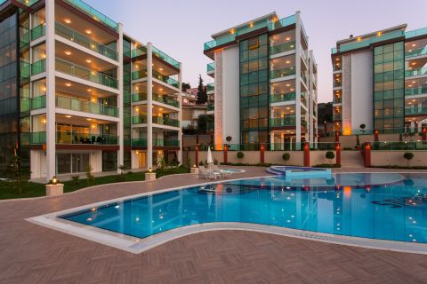 Big balcony apartments for sale in Kargicak