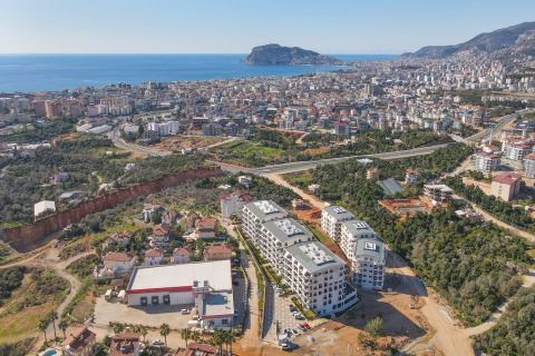 Western design properties for sale in Oba, Alanya
