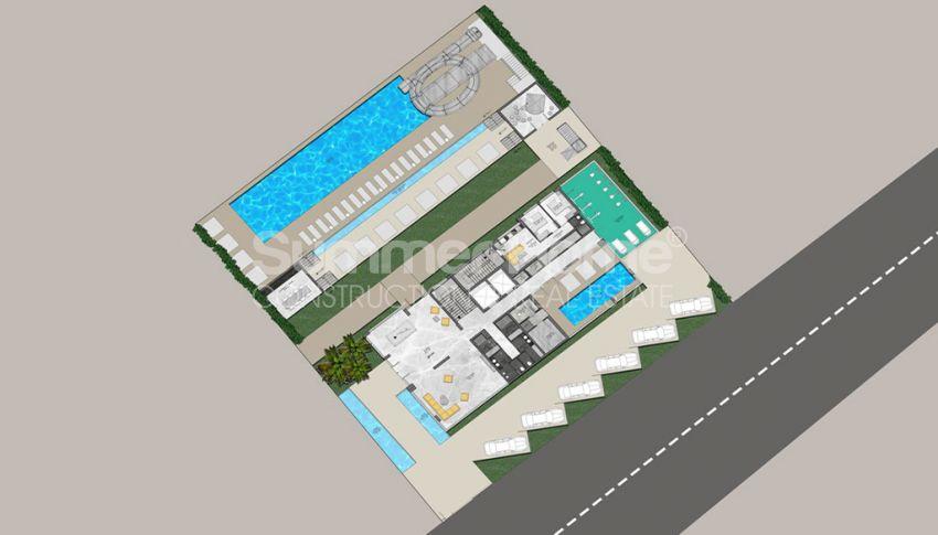 Complexe unique à Mahmutlar plan - 2