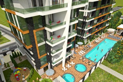 Apartments for sale in fancy project in Oba