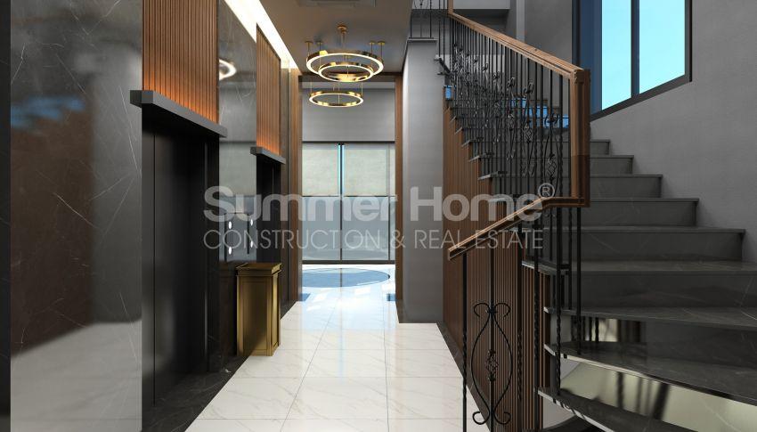 Elegante Meerblick-Wohnungen in Kargicak, Alanya facility - 16