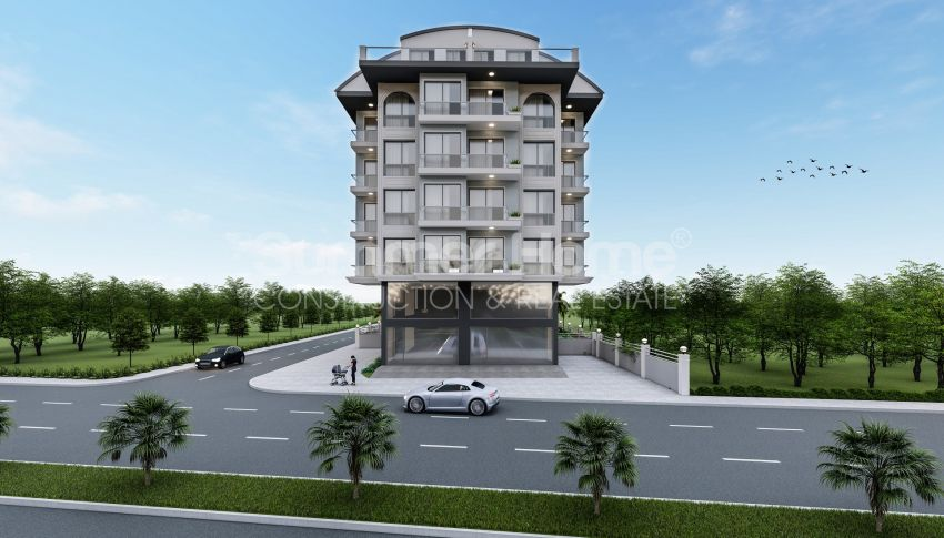 Elegante Meerblick-Wohnungen in Kargicak, Alanya general - 2