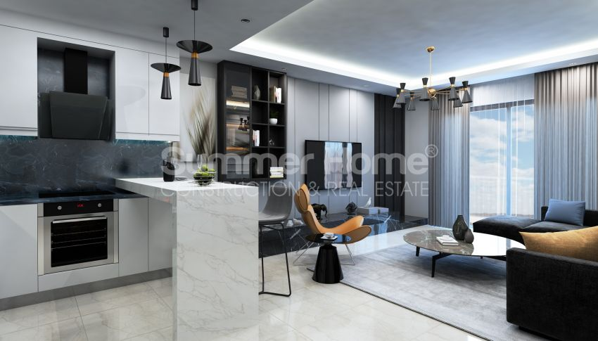 Elegante Meerblick-Wohnungen in Kargicak, Alanya interior - 10