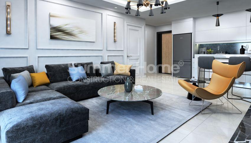 Elegante Meerblick-Wohnungen in Kargicak, Alanya interior - 11