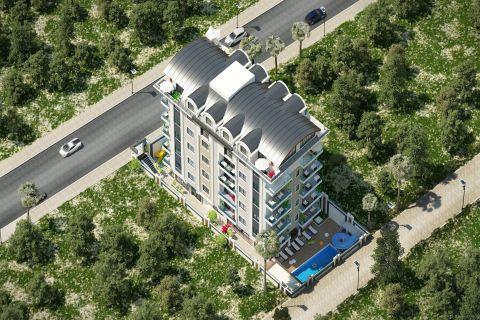 Cheap apartments near the sea in Mahmutlar