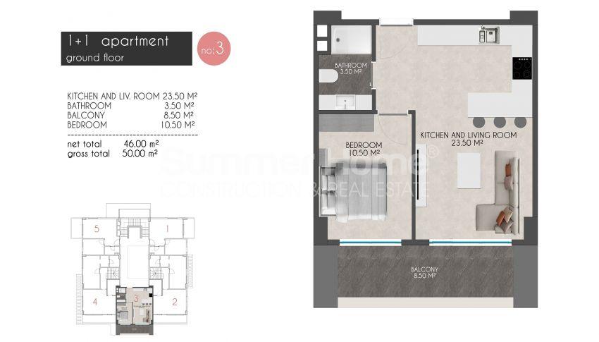 凯斯特尔的迷人海滨公寓 plan - 1