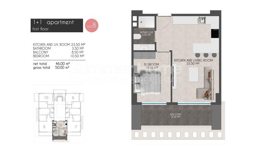 凯斯特尔的迷人海滨公寓 plan - 3