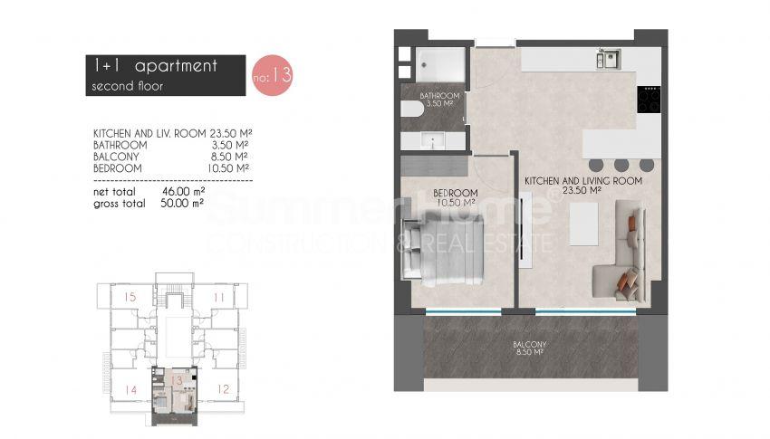凯斯特尔的迷人海滨公寓 plan - 6